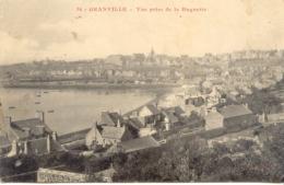 CPA - GRANVILLE - VUE PRISE DE LA HUGUETTE (1918) - Granville