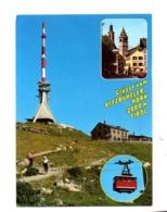 Carte Kitzbüheler Horn  + Antenne ? Flamme Sur Vitrail - Österreich