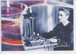 """Marie Curie """"Je Suis De Ceux Qui Pensent Que La Science A Une Grande Beauté"""" (Institut) CP Neuve - Werbepostkarten"""