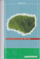 Switzerland Zurich - 1999 - Greenpeace - Agenda 2000 - 2001 - 30 Pages - Unused - Ecology - Nature