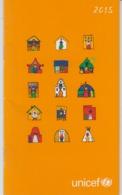 Switzerland Zurich - 2015 - UNICEF Agenda - Calendar - 32 Pages - Unused - Calendars
