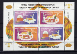 CHYPRE TURC Turkish Cyprus  2005 Europa Gastronomie Yv Bl 22 MNH ** - Cyprus (Turkey)