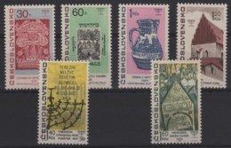 ART 39 - TCHECOSLOVAQUIE N° 1569/74 Neufs** Art Juif - Unused Stamps