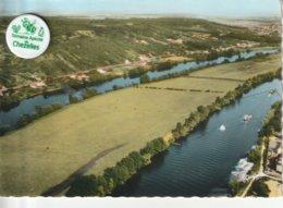 78 - Très Belle Carte Postale Semi Moderne Dentelée De  LIMAY ET MANTES    Vue Aérienne - Limay