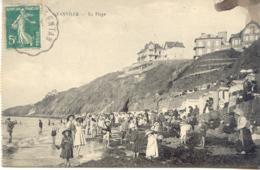 CPA - GRANVILLE - LA PLAGE - Granville