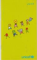 Switzerland Zurich - 2009 - UNICEF Agenda - Calendar - 32 Pages - Unused - Calendars