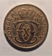 Denmark 2 Krone  1924 - Dänemark