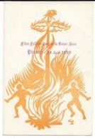PROVINS Fêtes Folkloriques De La Saint-Jean  24 Juin 1950. Comité Coordination Jeunesse De P., Cpa - Provins