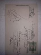 """2 Rares Oblitérations """" PARIS ÉTRANGER"""" 1907 Sur Carte Postale De NUREMBERG - 1877-1920: Période Semi Moderne"""