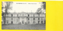RIS ORANGIS Façade Du Château Gomel (Boulier) Essonne (91) - Ris Orangis
