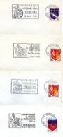Sport, Moto, Moto-cross, Thouars, 1964 à 1968 - Flammes Secap - Enveloppes Entières  (V412) - Autres Collections