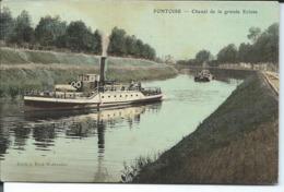 Pontoise-Chenal De La Grande Ecluse. - Pontoise