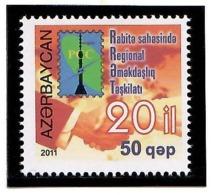 Azerbaijan 2011 . Regional Communications (RCC). 1v: 50.   Michel # 884 - Azerbaiján