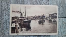 56 Lorient Le Port De Commerce Et Le Départ Du Bateau Pour L'ile De Groix - Lorient