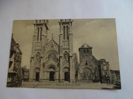 Cpa - La Ferté Macé - Détail Des Portes De L'église - - La Ferte Mace