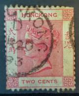 HONGKONG 1880 - Canceled - Sc# 9 - 2c - Hong Kong (...-1997)
