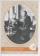 Pierre Marie Curie Ont Découvert Le Polonium En 1898 (inst Curie) Cp Vierge - Premi Nobel