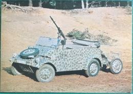 Volkswagen Kubelwagen, 1943  Vintage, Complete With Original Ammunition Trailer. - Equipment