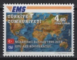 Turkey (2019) - Set -  /  EMS - Joint Issue - Correo Postal