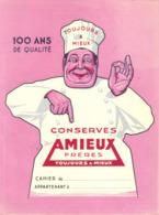 Protège Cahier AMIEUX - Alimentaire