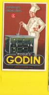 Pub Poëles GODIN Colin Et Cie Guise Aisne - Werbepostkarten