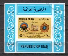 Iraq 1972 Mi Block 23 Canceled - Irak