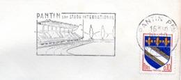 Tourisme,Pantin, Stade, Sport  - Flamme Secap - Enveloppe Entière  (V415) - Autres Collections