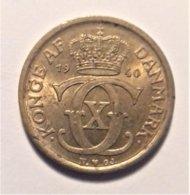 Denmark ½ Krone  1940 - Dänemark