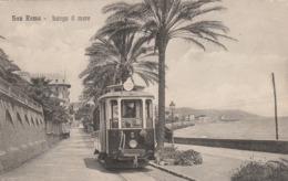 CPA:ITALIE SAN REMO TRAMWAY N° 3 BUNGO IL MARE - San Remo