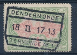 "TR 45 - ""DENDERMONDE - TERMONDE Nr 1"" - Ronde Hoek/coin Arrondi - (ref. 29.347) - Ferrocarril"