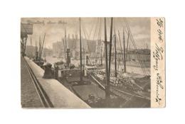 Düsseldorf, Neuer Hafen (1906). - Düsseldorf