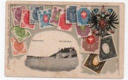 Majorenhof. Majori. Yurmala. Russian Postage Stamps And Coat Of Arms. - Lettland