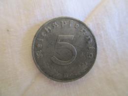 5 Pfennig 1942 B - 5 Reichspfennig