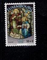 858139615 SCOTT B395 POSTFRIS MINT NEVER HINGED EINWANDFREI (XX) - CHRISTMAS STAINED GLASS WINDOW - Luxembourg