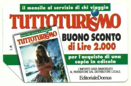 Italia - Tessera Telefonica Da 5.000 Lire N. 308 - Tuttoturismo - Italië