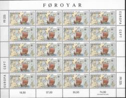 1992 Färöer  Mi. 231-2** MNH  Europa: 500. Jahrestag Der Entdeckung Von Amerika - Europa-CEPT