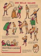 Protège Cahier Vinaigre Huile Poivre Des Bénédictins- Le Renard Et La Cigogne - Alimentaire
