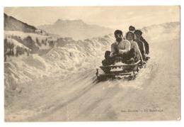 30 - Les Avants - En Bobsleigh - Sports D'hiver