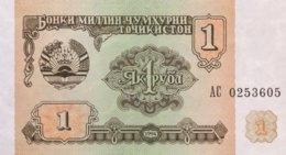 Tajikistan 1 Ruble, P-1 (1994) - UNC - Tadschikistan