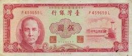 Taiwan 1 Yuan, P-1971b (1961) - Fine - Taiwan