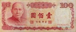Taiwan 100 Yuan, P-1989 (1987) - Fine - Taiwan