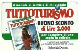 Italia - Tessera Telefonica Da 10.000 Lire N. 309 - Tuttoturismo - Italië