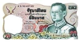Thailand 20 Bath, P-88 (1981) - UNC - Signature 67 - Thailand