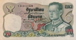 Thailand 20 Bath, P-88 (1981) - EF/XF+ - Signature 55 - Thailand