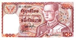 Thailand 100 Bath, P-89 (1978) - UNC - Signature 54 - Thailand