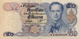 Thailand 50 Bath, P-90b - Very Fine ++ - Signature 54 - Thailand