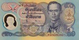 Thailand 50 Bath, P-99 (1996)- UNC - Signature 66 - 50th Anniversary Of Reign - Thailand