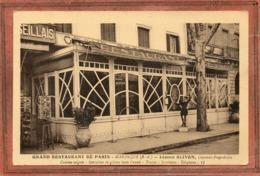 CPA - MANOSQUE (04) - Aspect De La Devanture-terrasse Couverte Du Grand Restaurant De Paris Dans Les Années 30 / 40 - Manosque