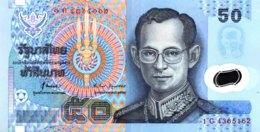 Thailand 50 Bath, P-102 (1997)- UNC - Signature 71 - Thailand