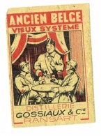 Ransart: Ancien Belge - Distillerie Gossiaux & Cie - Matchbox Labels